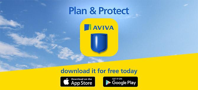 <strong>AVIVA</strong> Plan & Protect APP
